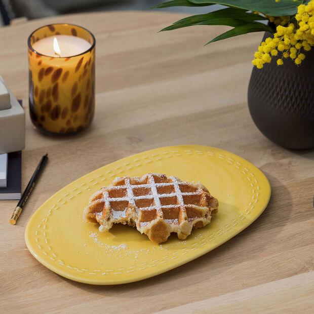 it's my moment plate Honey, 29.5 x 19 x 1.5 cm, , large