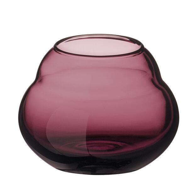 Jolie Mauve vase/tea light holder, , large