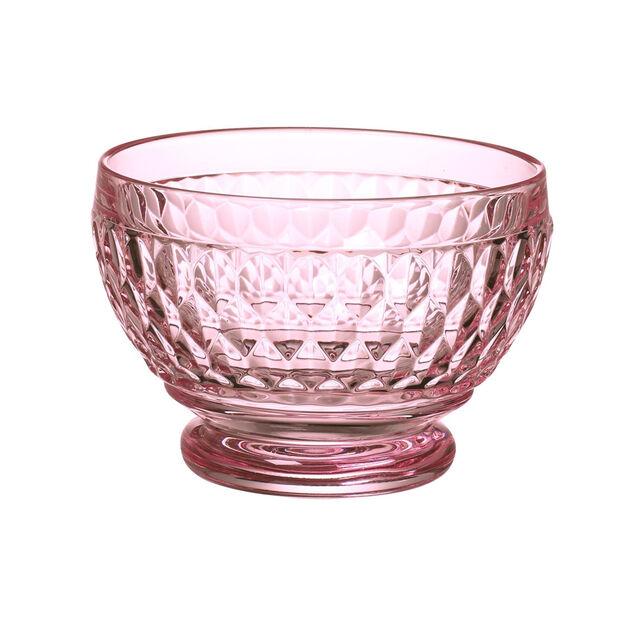Boston Coloured Dessert bowl Pink, , large