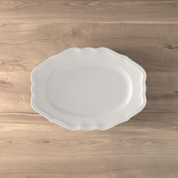 Manoir oval plate 37 cm, , large