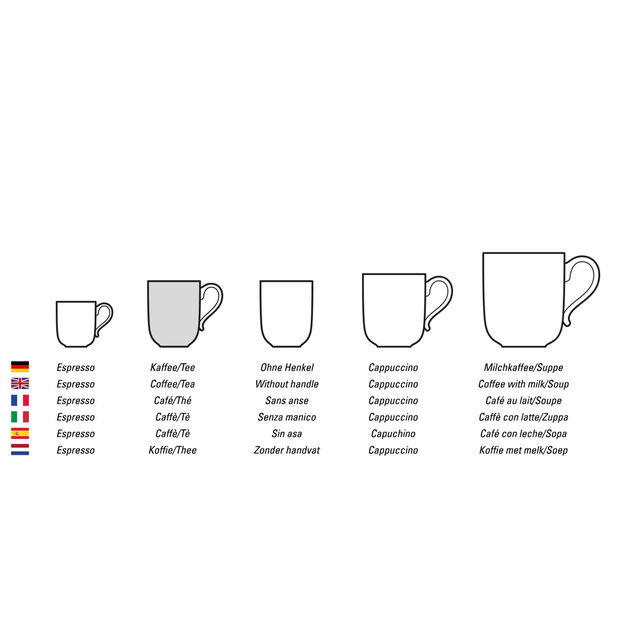 Mariefleur Basic coffee cup, , large