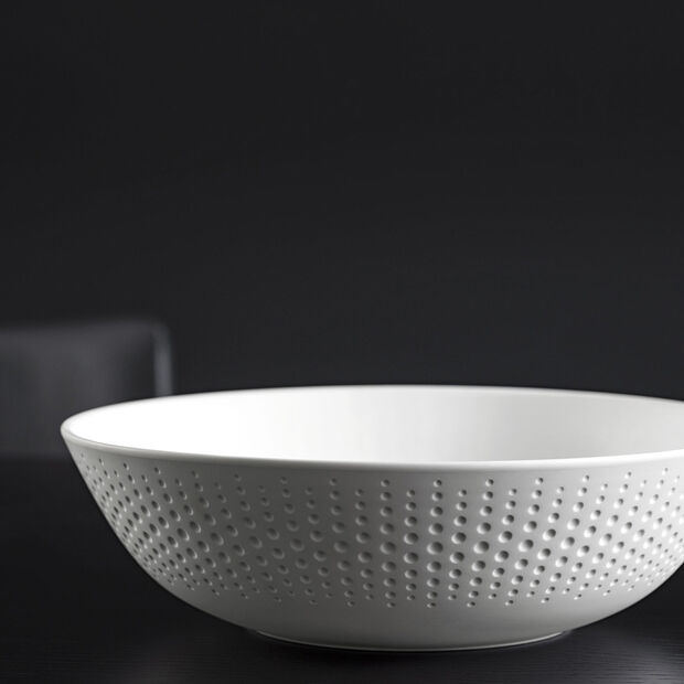 Manufacture Collier fruit bowl, white, , large