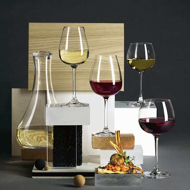Purismo Wine Red wine goblet intricate&delicate Set 4 230mm, , large