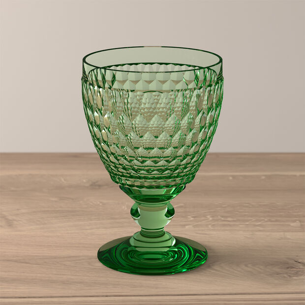 Boston Coloured Water glass Green, , large
