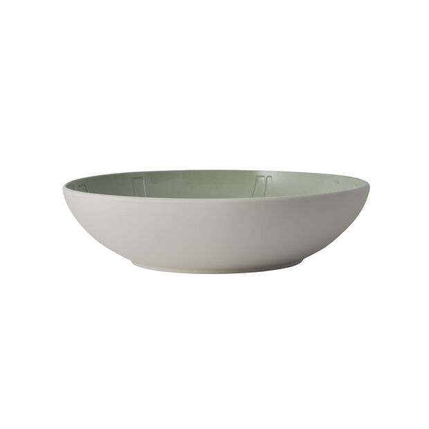 it's my match serving bowl Leaf, 26 x 6.5 cm, Mineral Green, , large