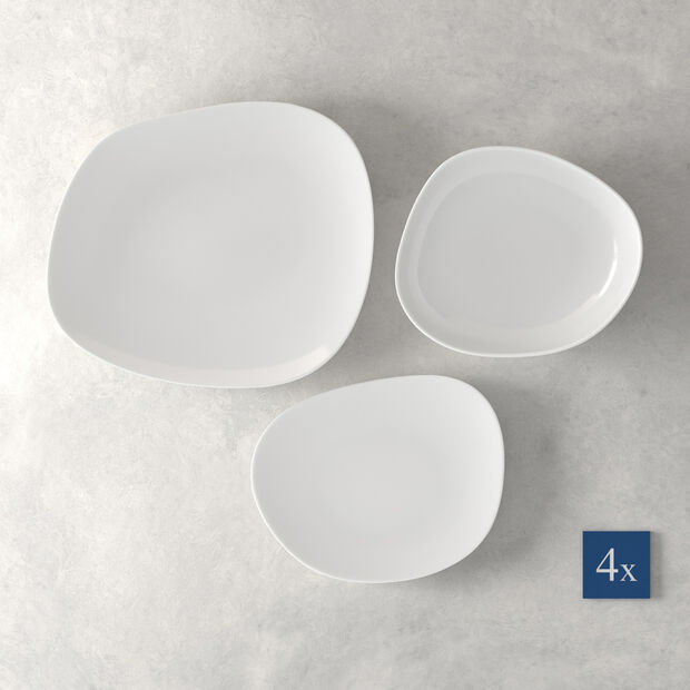 Organic White Starter set, 12 pieces, , large