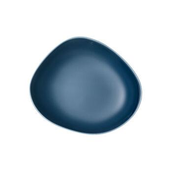 Organic Turquoise Deep plate 20 x 18 x 5,5cm
