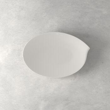 Flow oval plate 36 cm