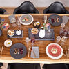 Manufacture Rock blanc Gourmet plate 31,5x31,5x2,5cm, , large
