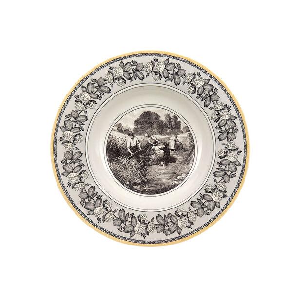 Audun Ferme Deep plate 24cm, , large