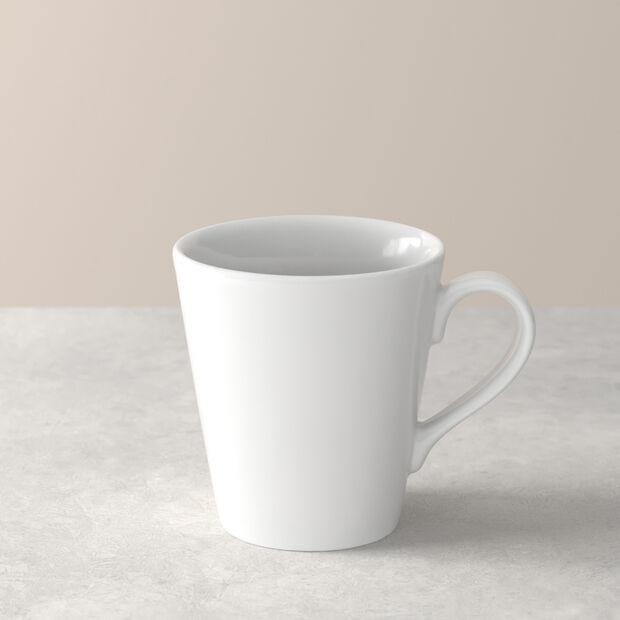 Organic White Mug 12,5 x 9 x 10cm, , large