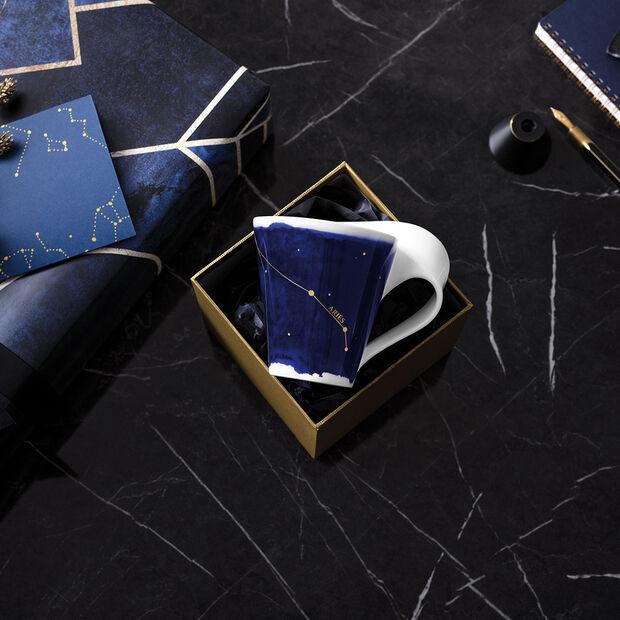 NewWave Stars mug Aries, 300 ml, blue/white, , large