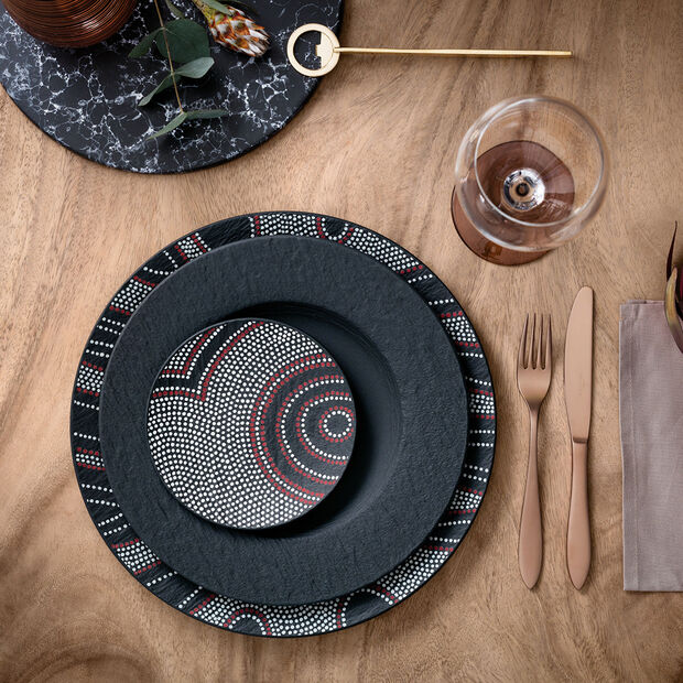 Manufacture Rock dinner plate, , large