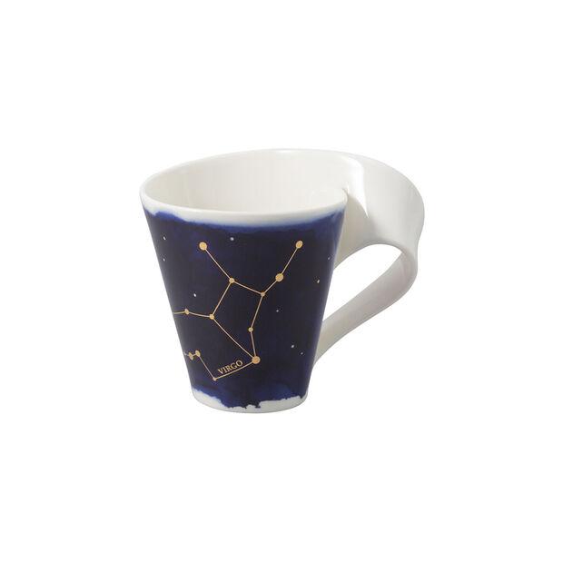 NewWave Stars mug Virgo, 300 ml, blue/white, , large