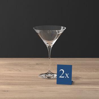 Purismo Bar cocktail/Martini glass 2-piece set