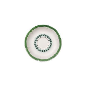 French Garden Green Line tea cup saucer