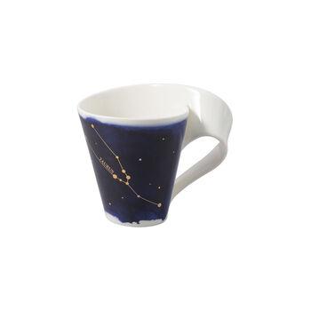 NewWave Stars mug Taurus, 300 ml, blue/white