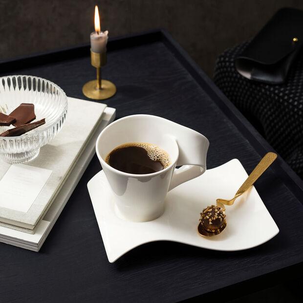 NewWave Caffè small coffee cup saucer 20 x 14 cm, , large