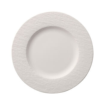 Manufacture Rock Blanc dinner plate