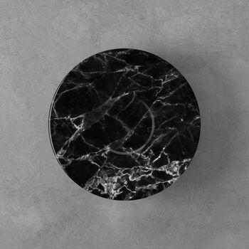 Marmory Saucer coffee cup black 16x16x2cm