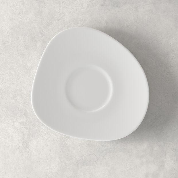 Organic White Saucer coffee cup 17,5 x 16 x 2cm, , large