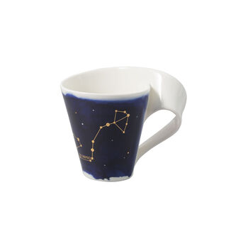 NewWave Stars mug Scorpio, 300 ml, blue/white