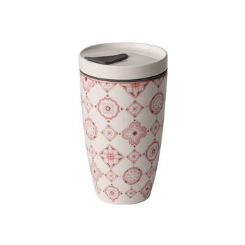 Modern Dining To Go Rosé travel coffee mug