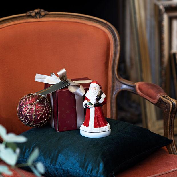 Nostalgic Melody Santa rotating, red, 8 x 8 x 15 cm, , large