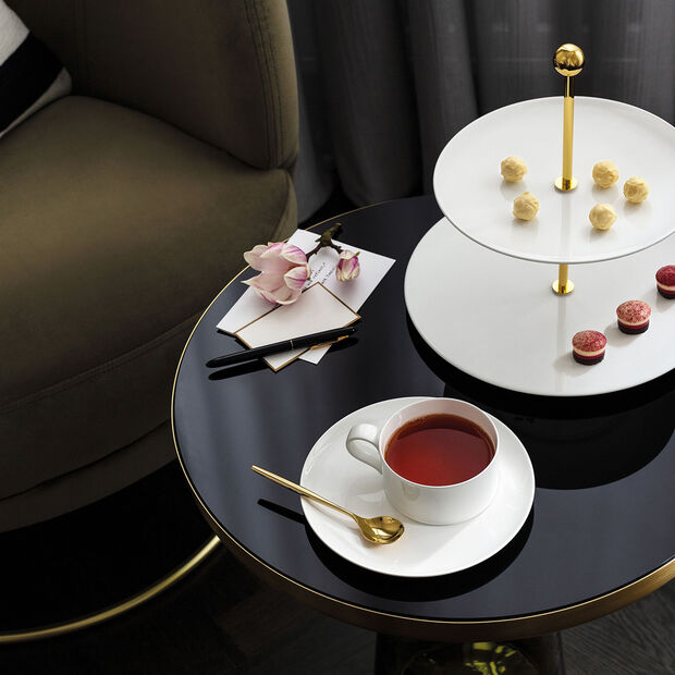 MetroChic blanc tea cup, 230 ml, white, , large