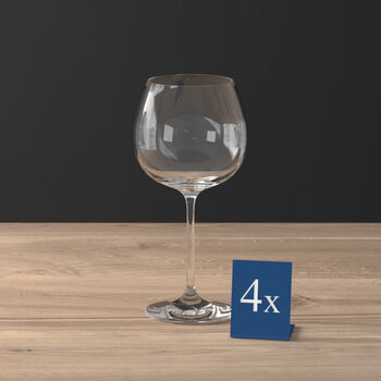 Purismo Wine Red wine goblet full-bodied Set of 4 208mm