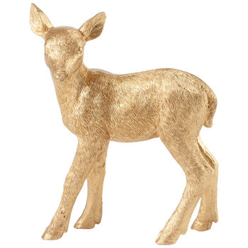 Winter Collage Accessoires Fawn gold 12cm