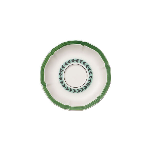 French Garden Green Line Saucer breakfast cup 17cm, , large
