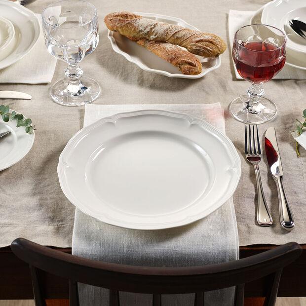 Manoir dinner plate, , large