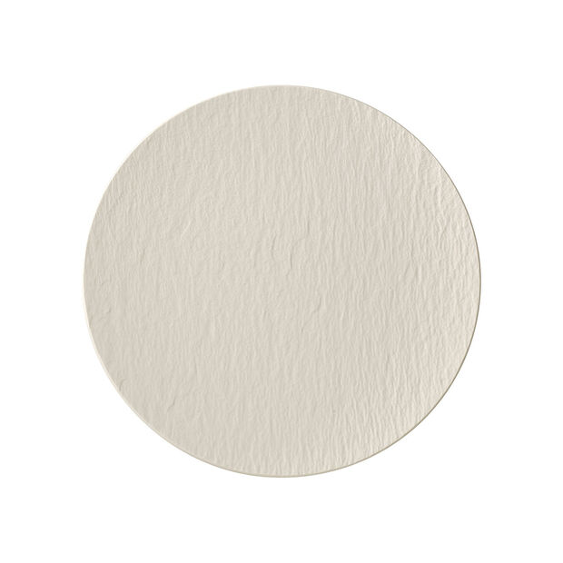 Manufacture Rock Blanc coupe universal plate, 25 cm, , large