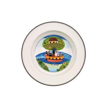 Design Naif Deep plate Noah's ark 21cm