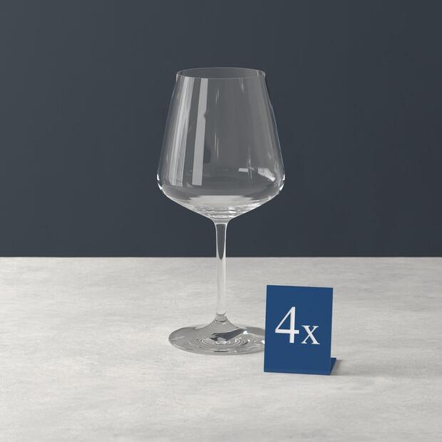 Ovid red wine glass 4-piece set, , large
