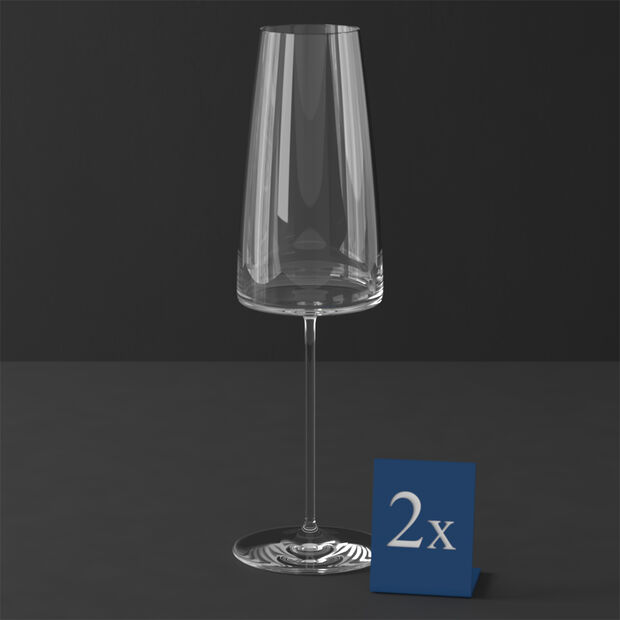 MetroChic champagne glass , 2 pieces, 450 ml, , large