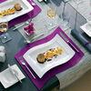 NewWave gourmet plate set 4 pieces 33 x 24 cm, , large