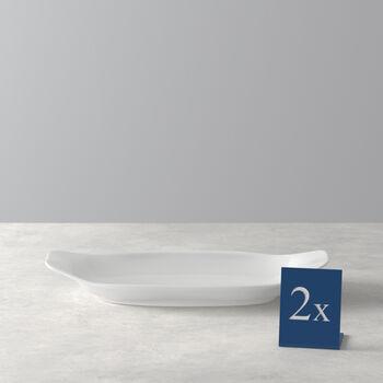 BBQ Passion Antipasti/dessert plate Set 2 pcs. 26x13x3,8cm