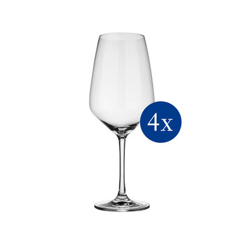 vivo | Villeroy & Boch Group Voice Basic Glas Red wine goblet set 4pcs EC