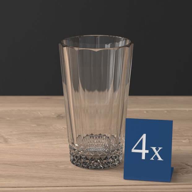 Opéra Smoke long drink glass 4-piece set, , large