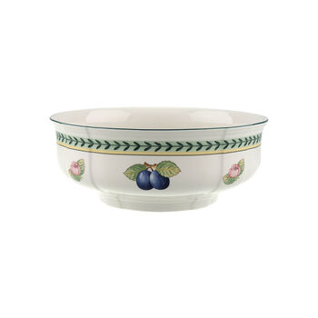 French Garden Fleurence round salad bowl