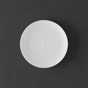MetroChic blanc Saucer espresso cup 14,5x14,5x1,5cm