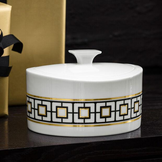 MetroChic Gifts Porcelain box 16x13x10cm, , large