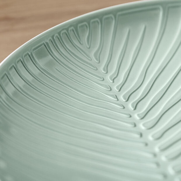 it's my match plate Leaf, 24 cm, Mineral Green, , large