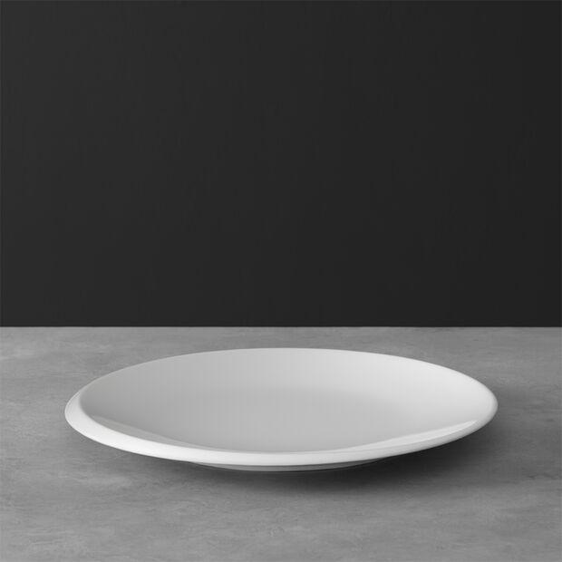NewMoon dinner plate, 27 cm, white, , large