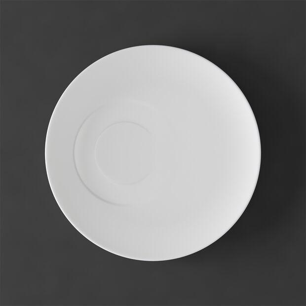 MetroChic blanc Saucer coffee cup 18,5x18,5x2cm, , large