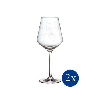 Toy's Delight Red Wine Goblet, Set of 2