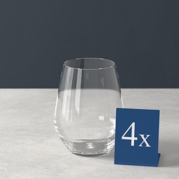 Ovid water glass 4-piece set, , large