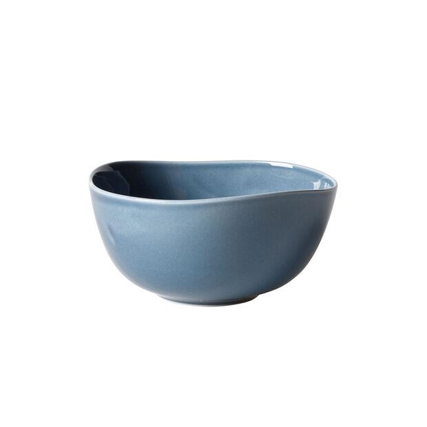 Organic Turquoise Bowl 15 x 15 x 7,5cm, , large